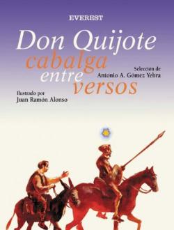 Don Quijote cabalga entre versos