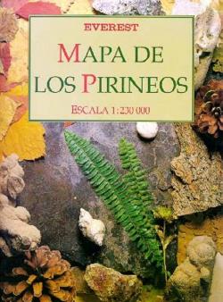 Mapa de los Pirineos