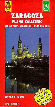 Zaragoza. Plano callejero