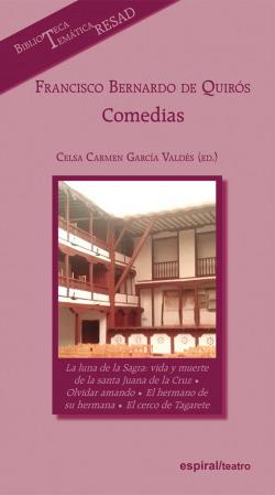Francisco Bernardo de Quirós: Comedias