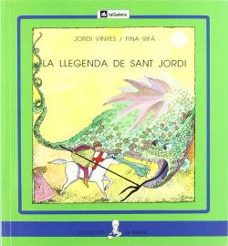La llegenda de sant Jordi (lletra de pal)