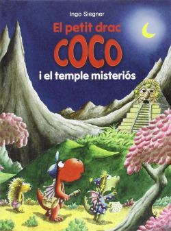 El petit drac coco i el temple misterios