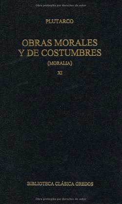 322. Obras morales y de costumbres XI.