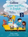 Collins lear and play in english. Libro actividades. Puzles y juegos para niños en inglés