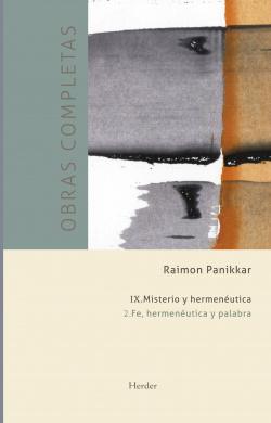 RAIMON PANIKKAR. OBRAS COMPLETAS
