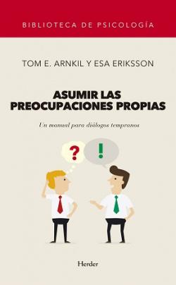 ASUMIR LAS PREOCUPACIONES PROPIAS