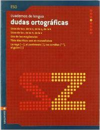 (06).CUAD.DUDAS ORTOGRAFICAS 4.ESO