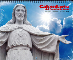 CALENDARIO -2021 PARED CON FALDILLA SAGRADO SORAZON