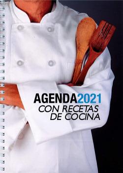 AGENDA -2021 CON RECETAS DE COCINA
