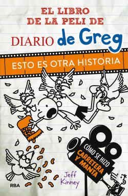 Libro de la peli de Diario de Greg