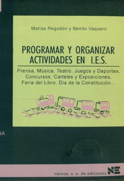 PROGRAMAR Y ORGANIZAR ACTIVIDADES