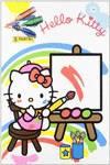 Pinta y colorea hello kitty 3o
