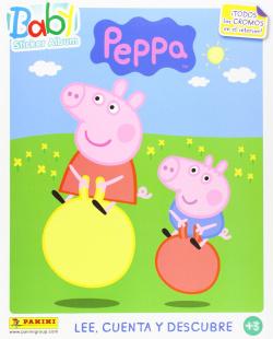 Baby sticker album peppa pig