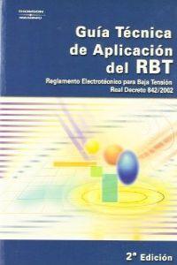 GUIA TECNICA APLICACION R.B.T. (07) - VARIOS