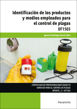 Indentificación productos y medios empleados control plagas