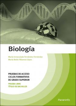 Biolog¡a. Pruebas de acceso a ciclos formativos de grado superior