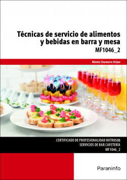 Técnicas servicio alimentos y bebidas bara y mesa
