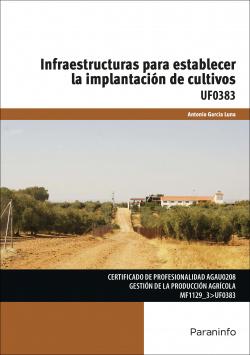 Infraestructuras para establecer implantación cultivos