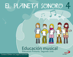 (07).PLANETA SONORO 4O.PRIM.(LIBRO+CD)