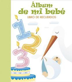 Álbum de mi bebé:libro de recuerdos (verde)