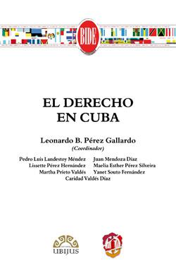 Derecho en Cuba