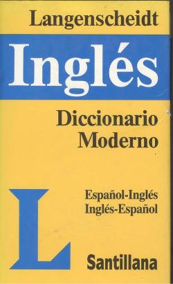 Diccionario moderno langenscheidt español-ingles.ingles-español