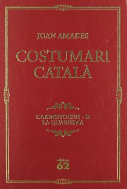 Costumari català.