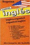 Lexicón Sopena inglés español y español-inglés