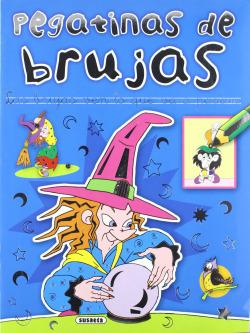 Pegatinas de Brujas (4 Títulos)