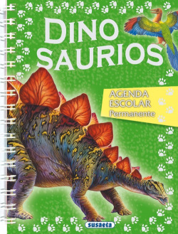Agenda escolar permanente dinosaurios