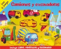 Camiones y excavadoras (Lee y juega)