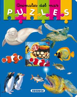 Animales del mar (Mi primer libro de puzles)