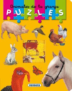 Animales de la granja (Mi primer libro de puzles)
