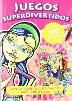 Libro de cuentos y juegos superdivertidos