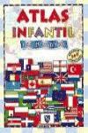 Atlas infantil con banderas