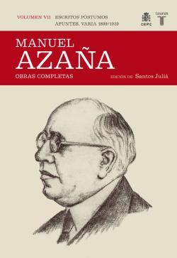 O.c. manuel azaña tomo 7 1899 / 1939