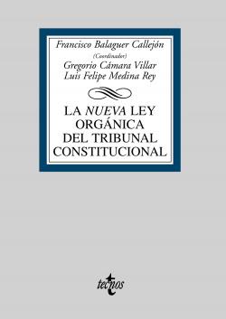 LEY ORGANICA TRIBUNAL CONSTITUCIONAL/LIBRO UNIVERSITARIO