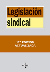Legislación sindical (17ª ed.)