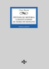 SINTESIS DE HISTORIA E INSTITUCIONES DE DERECHO ROMANO.