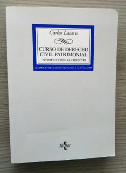 (2008).CURSO DERECHO CIVIL PATRIMONIAL.INTRODUCCION DERECHO