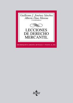 (2012).LECCIONES DE DERECHO MERCANTIL (BIBL.UNIVERSITARIA)