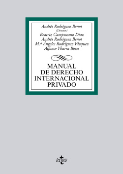 (2014).MANUAL DE DERECHO INTERNACIONAL PRIVADO
