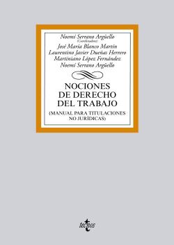 NOCIONES DE DERECHO DEL TRABAJO.(BIBL.UNIVERSITARIA)