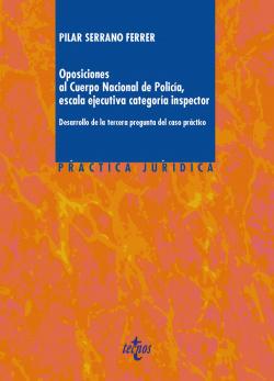 Oposiciones al cuerpo nacional de policia, escala ejecutiva, categoria inspector