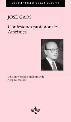 Confesiones profesionales aforística