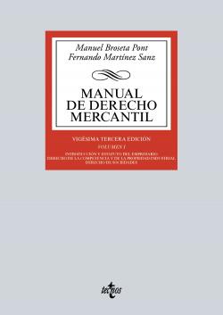 (2016).I.MANUAL DE DERECHO MERCANTIL.(BIBL.UNIVERSITARIA)