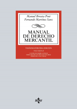 (2016).II.MANUAL DE DERECHO MERCANTIL
