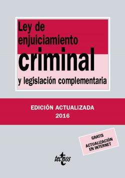 LEY DE ENJUICIAMIENTO CRIMINAL 2016