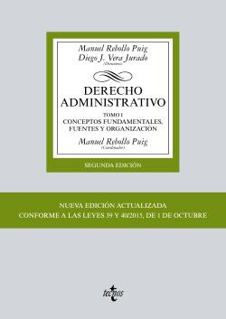 I.Derecho administrativo:Conceptos fundamentales, fuentes y organización