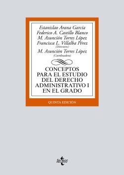 (2017).I.CONCEPTOS ESTUDIO DERECHO ADMINISTRATIVO I GRADO